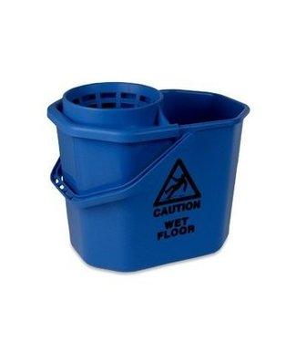 Minimopemmer kunststof 14 L blauw