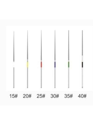 Woodpecker Fichiers niti 15#, 20#, 25#, 30#, 35#, 40#