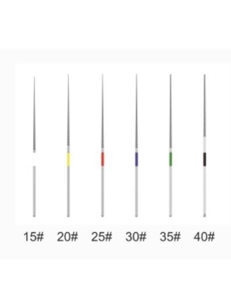 Woodpecker Niti dateien 15#, 20#, 25#, 30#, 35#, 40#
