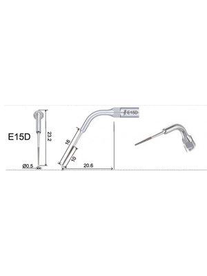 EMS compatibel Woodpecker  Woodpecker E15D Endo tip Wasserkühlung