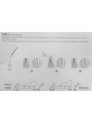 Siemens/Sirona compatibel Woodpecker Woodpecker ES3D Endo tip