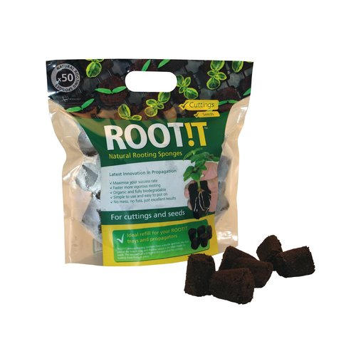 Root!t Root!t Wortelsponzen 50 stuks per zak
