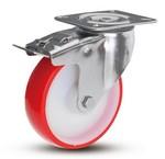 RVS wielen - PU - Medium harde wielen