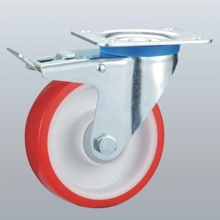 Licht industriële PU wielen