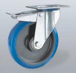 RVS wielen - Elastisch rubber - Zachte wielen