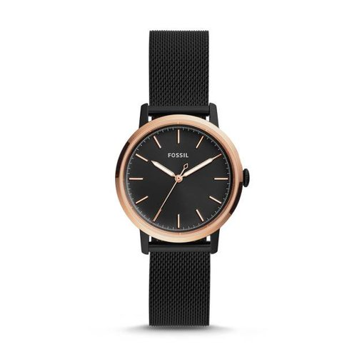 Fossil Black Stainless Steel Watch