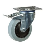 Grey elastic wheels