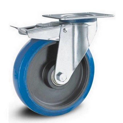 Blue Elastic - Stainless Steel castors