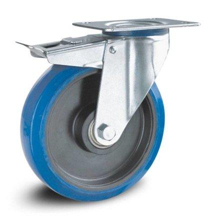 Inox - Bleu Roulette élastique