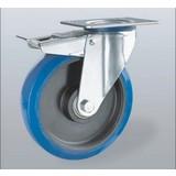 Ruote INOX - Elastica Blu