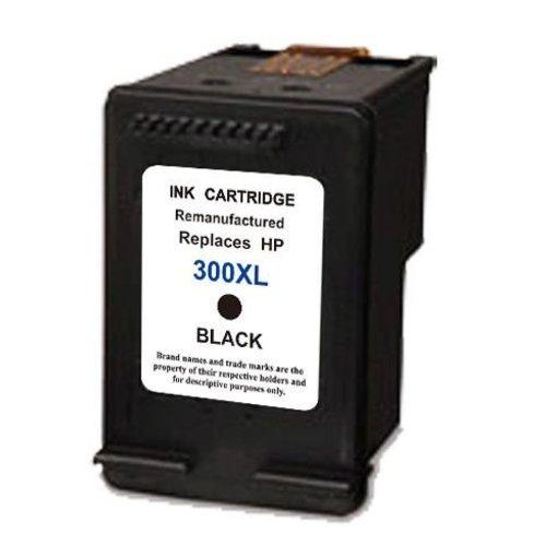 HP Compatible HP 300BK XL Inktcartridge (huismerk) - zwart