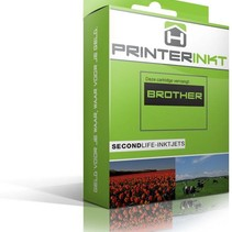 Brother 1000/970Y XL Inktcartridge (huismerk) – Geel