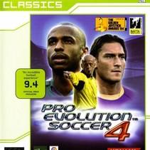 Pro Evolution soccer 4 xbox