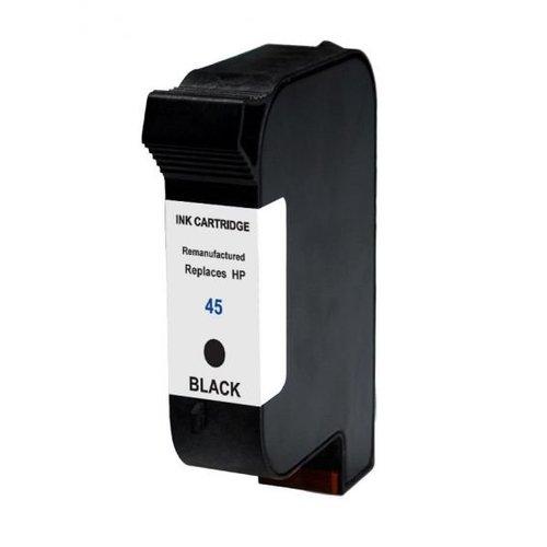 HP Compatible HP 45 XL Inktcartridge (huismerk) - zwart