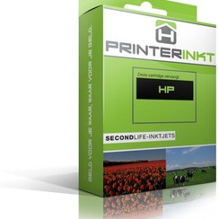 HP 336BK XL Inktcartridge (huismerk) - zwart