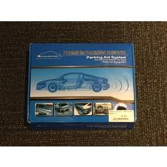 Premium Parking Sensor with White Sensors (Parking Aid System)