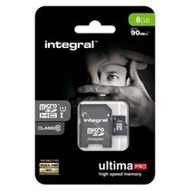 Geheugenkaart Integral Micro SDHC class10 Ultra 8GB