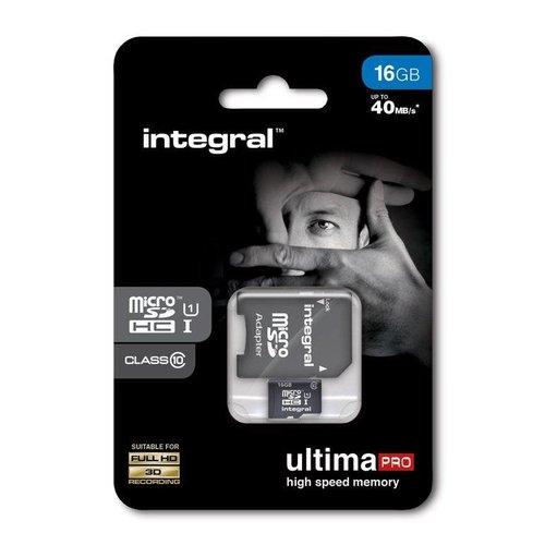 Integral UltimaPro 16GB - MicroSDHC Geheugenkaart
