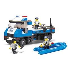 Sluban Police truck M38-B0186
