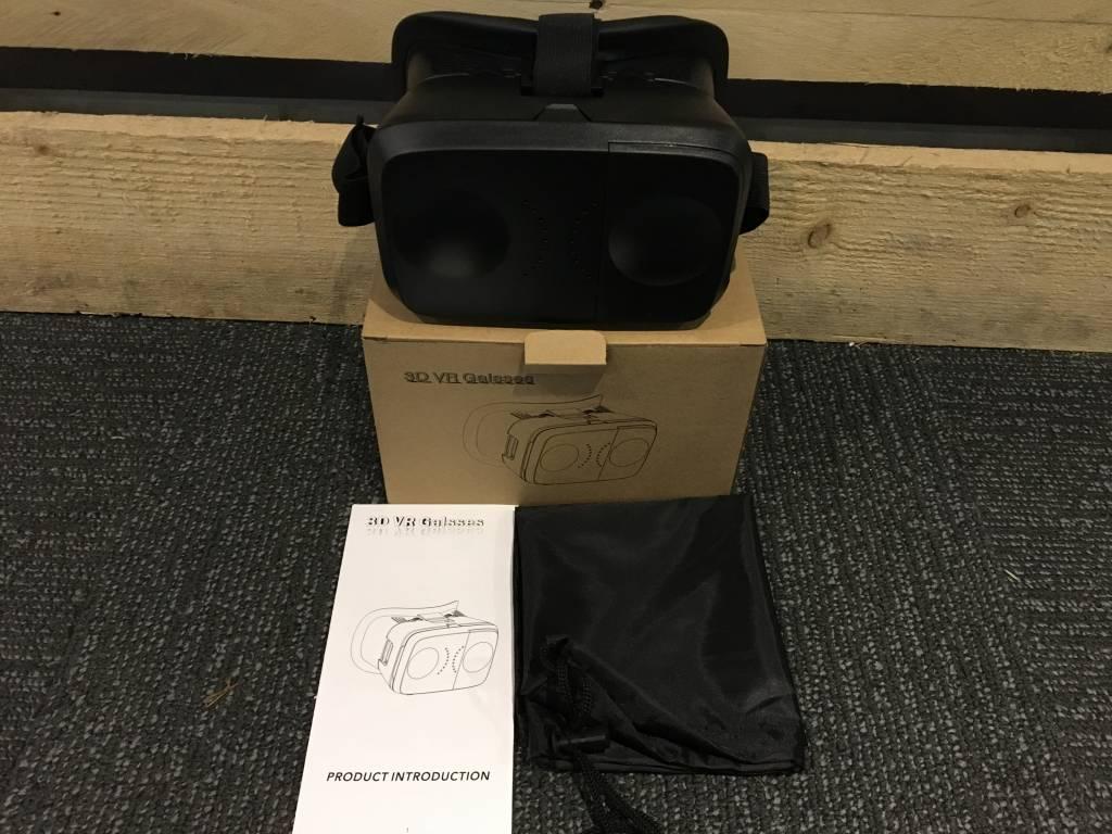 3D VR Glasses (Zwart)