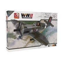 Sluban WW2 vliegtuig Spitfire