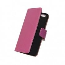 iPhone 7 bookcase roze