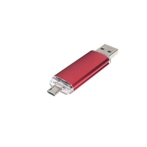 otg OTG 16Gb USB 2.0/3.0 flash drive - rood