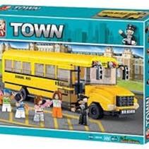 Sluban Town Grote Schoolbus