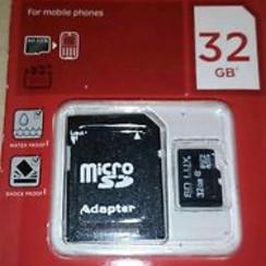SD LUX 32GB SD kaart