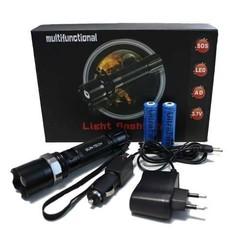 Dimming LED zaklamp (oplaadbaar)