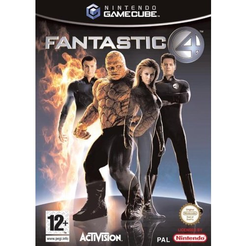 gamecube. Fantastic Four