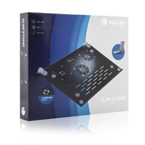 NGS NGS - Slim Stand - Laptopstandaard - Cooler