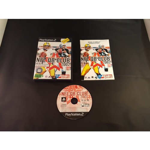 PS2 NFL QB Club 2002 - PS2