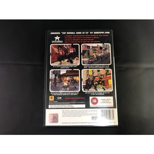 PS2 State of emergency (PS2)