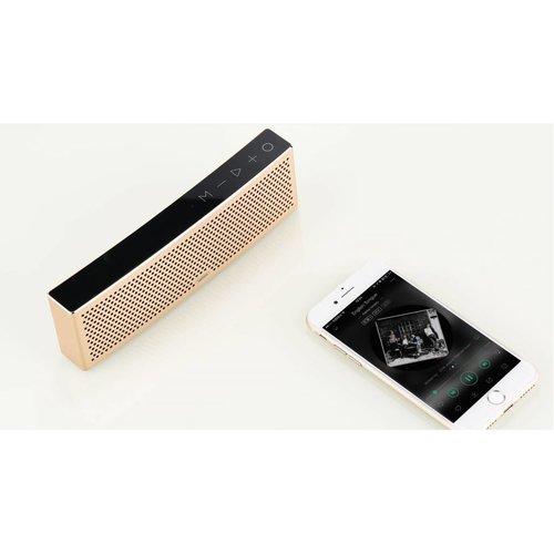 Remax Remax metalen bluetooth speaker - rosegold