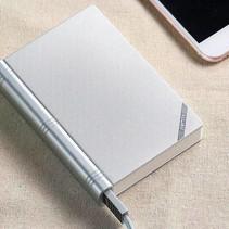 Remax boek powerbank 10.000 mah - zilver