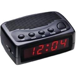Balance Time LED - Wekker - Digitaal - Zwart