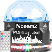 BeamZ PLS10 Jellyball met Bluetooth speaker
