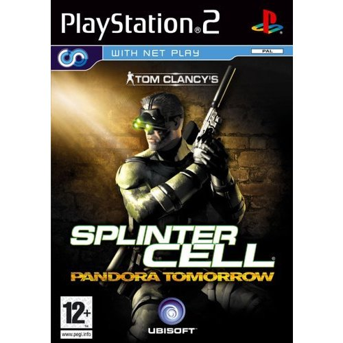 PS2 playstation 2 splinter cell pandora