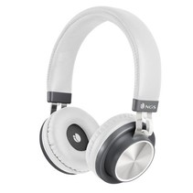 NGS Artica Patrol Bluetooth Headset - wit