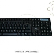 Wireless waterproof keyboard + mouse