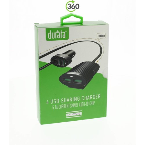 durata Durata 4 USB auto lader