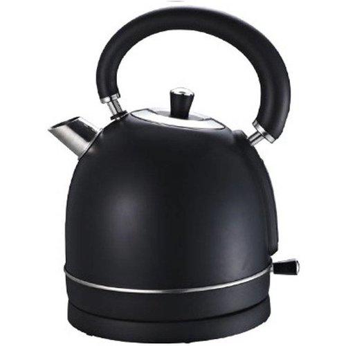 biko Biko waterkoker (Fluitketel model) - zwart