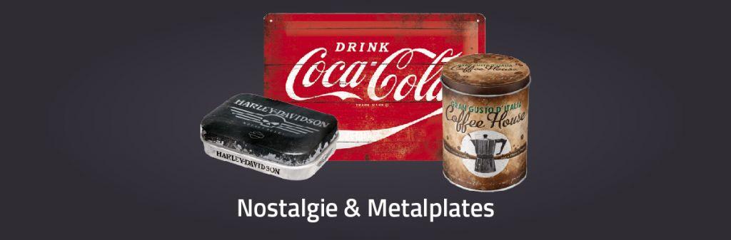 Nostalgie & Metal plates