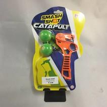 Smash shot catapult toy