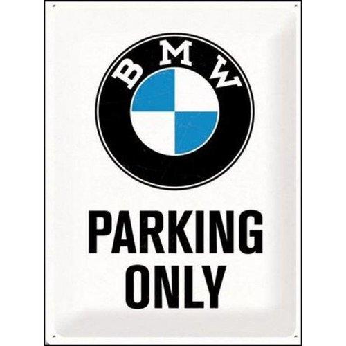 BMW Parking Only Metalen Wandbord 20x30 cm