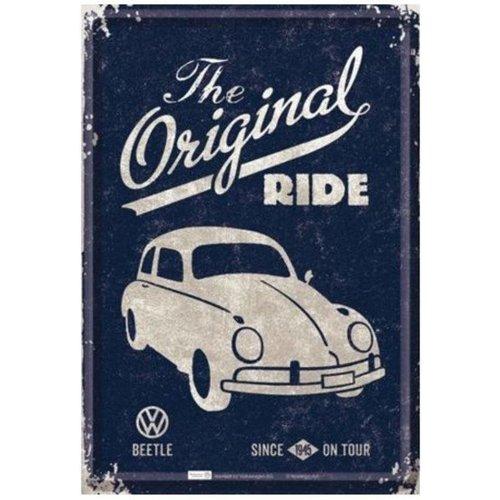 VWBeetle The Original Riderd 20x30 cm