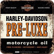 Harley-Davidson pre-luxe onderzetters 4 stuks