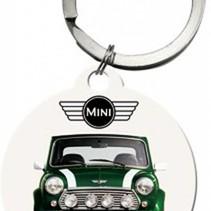 Mini Cooper Sleutelhanger Nostalgic art