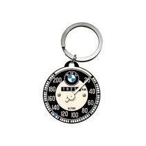 BMW auto Speedo ronde metalen Sleutelhanger